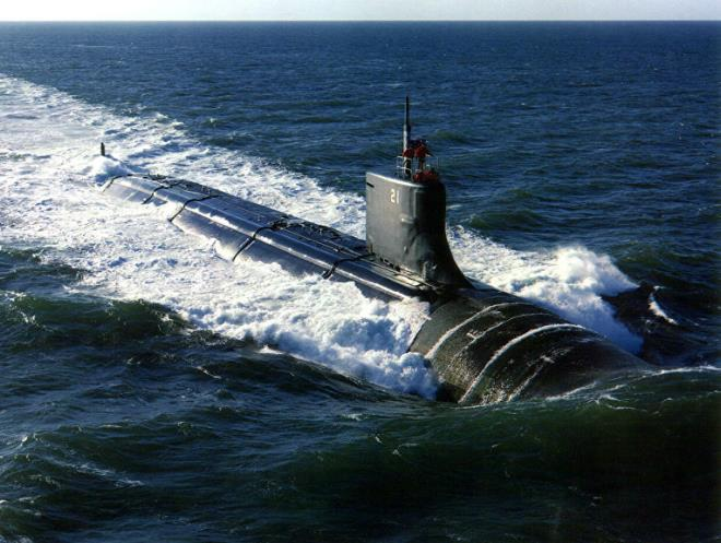Tàu ngầm Hải quân Trung Quốc đang đón lõng, hải quân Mỹ đối mặt với nguy hiểm - Ảnh 4.