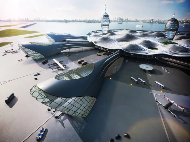 Sân bay vũ trụ sẽ trông ra sao nếu các chuyến bay thương mại lên không gian trở thành hiện thực? - Ảnh 3.