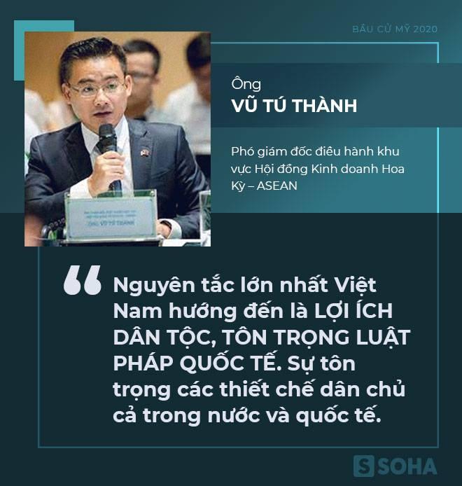 [Bàn tròn chuyên gia] Quan hệ Việt-Mỹ sẽ tiếp tục phát triển, không có Tổng thống nào đi ngược lại điều này - Ảnh 1.