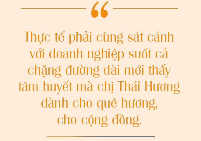 3 điều cốt tử giúp Thái Hương trở thành Anh hùng: Dấn thân, trí tuệ, trái tim - Ảnh 11.