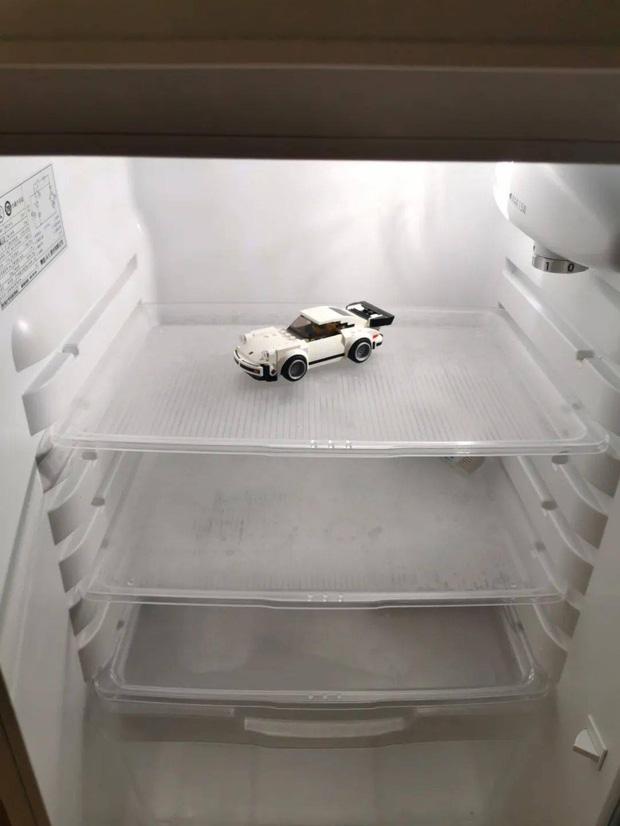 Hội FA xứ Trung khoe tủ lạnh: Người dùng bảo quản chăn bông và ô tô đồ chơi, kẻ lấy chỗ tích trữ đồ ăn cho quàng thượng - Ảnh 6.
