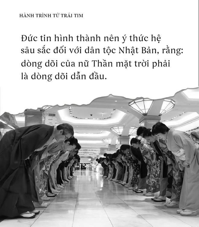 Nhật Bản - Phẩm cách dân tộc với đức tin là con của Thần Mặt Trời - Ảnh 4.
