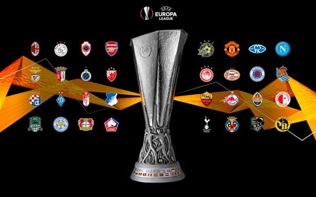 Bốc thăm vòng 1/16 UEFA Europa League (19h00 hôm nay, 14/12) - Ảnh 1.