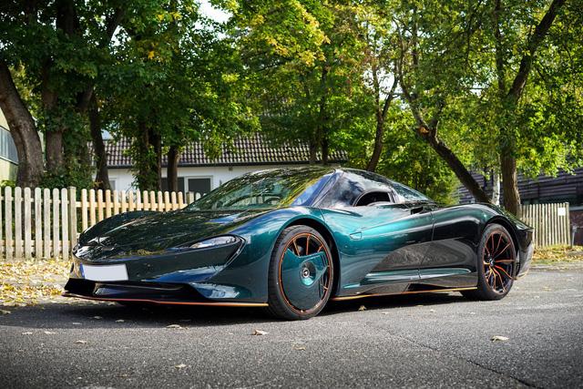 Buôn siêu xe lời bạc tỷ: McLaren Speedtail lên sàn xe cũ với giá gấp đôi xe mới - Ảnh 1.