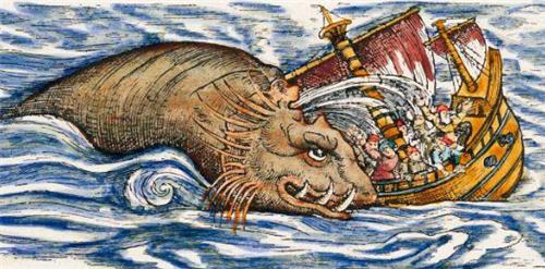Xúm lại xẻ thịt thủy quái mắc cạn dài 30 m, hàng trăm dân làng đột ngột mất mạng - Ảnh 3.