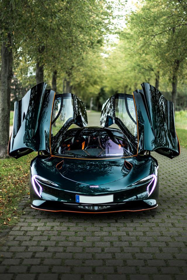 Buôn siêu xe lời bạc tỷ: McLaren Speedtail lên sàn xe cũ với giá gấp đôi xe mới - Ảnh 3.