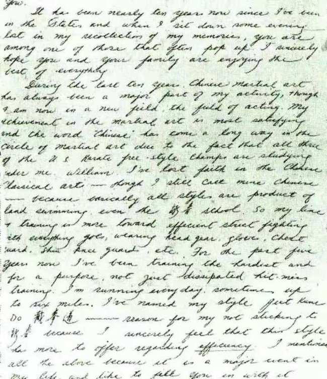 """Hé lộ bức thư gây chấn động của Lý Tiểu Long viết về """"sự giả dối"""" của võ Trung Quốc - Ảnh 1."""