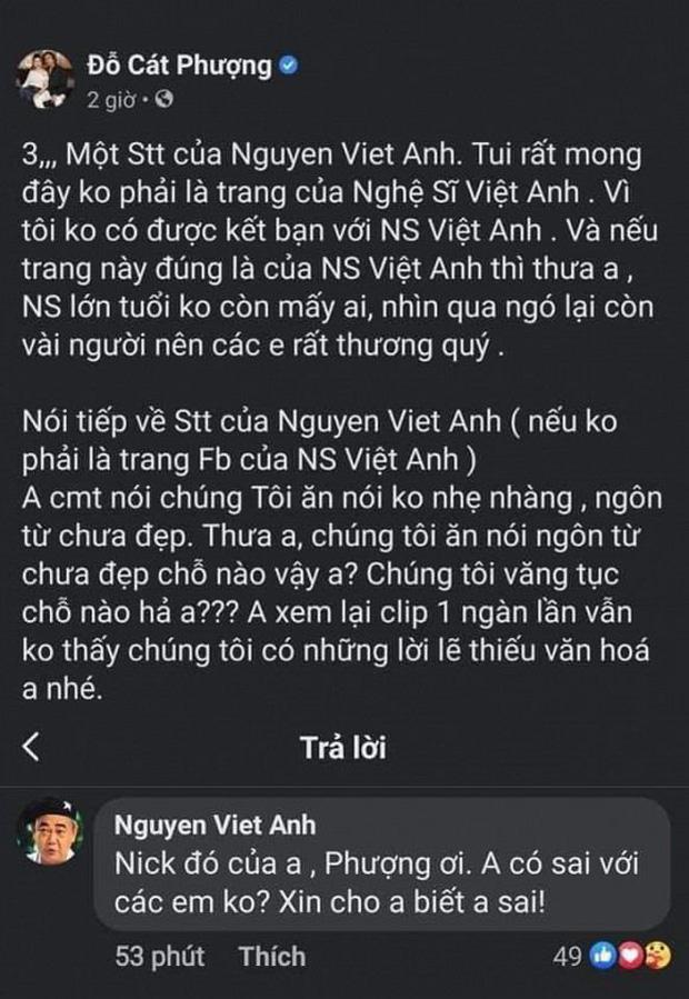 Biến căng: NS Việt Anh lên tiếng nhắc nhở đàn em nghệ sĩ sau lùm xùm gymer, Cát Phượng đăng đàn phản pháo cực gắt - Ảnh 2.