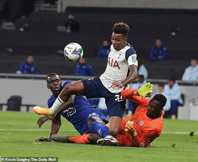 Tottenham chuẩn bị gửi trả Gedson Fernandes về đội bóng cũ - Ảnh 1.