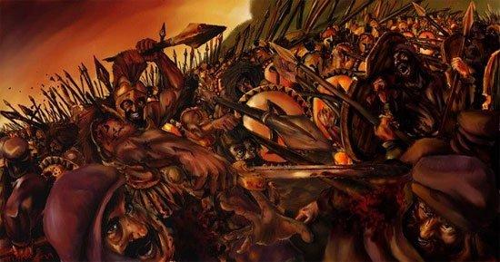 Những đội quân quỷ dữ có thật trong lịch sử thế giới - Ảnh 2.