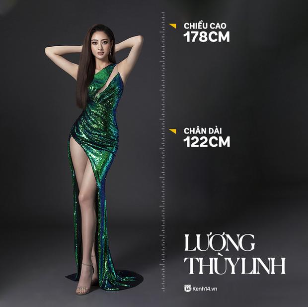 2 nàng hậu chân dài nhất nhì Vbiz Đỗ Thị Hà - Lương Thuỳ Linh chung khung hình, tân Hoa hậu lộ body gầy gò sau 2 tuần - Ảnh 2.