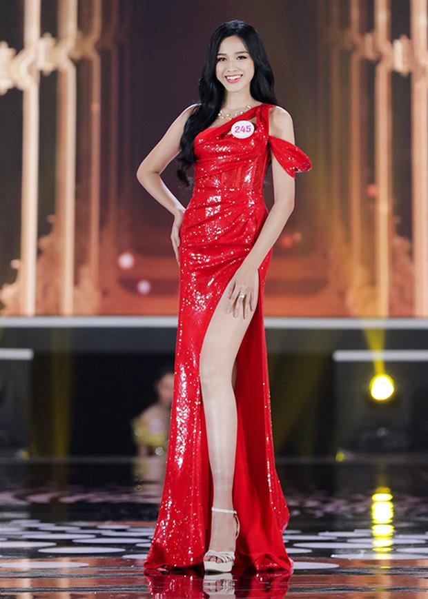 2 nàng hậu chân dài nhất nhì Vbiz Đỗ Thị Hà - Lương Thuỳ Linh chung khung hình, tân Hoa hậu lộ body gầy gò sau 2 tuần - Ảnh 3.