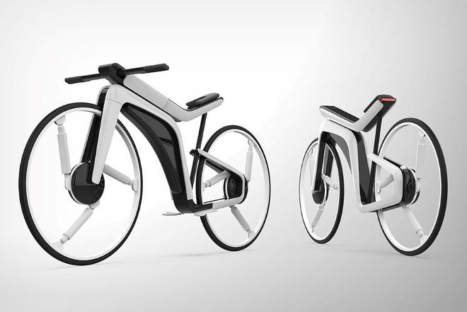 Cùng xem concept xe đạp điện Tesla Model B đậm chất viễn tưởng từ ngoài vào trong - Ảnh 4.