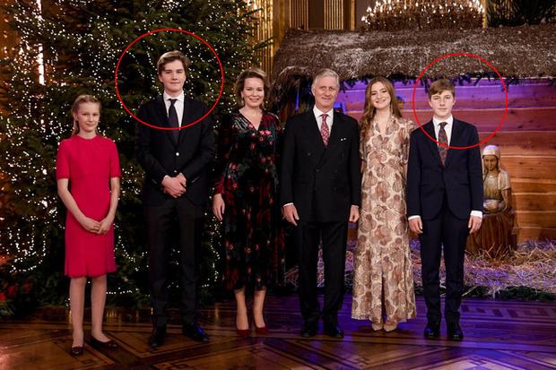 2 Hoàng tử điển trai của Hoàng gia Bỉ.