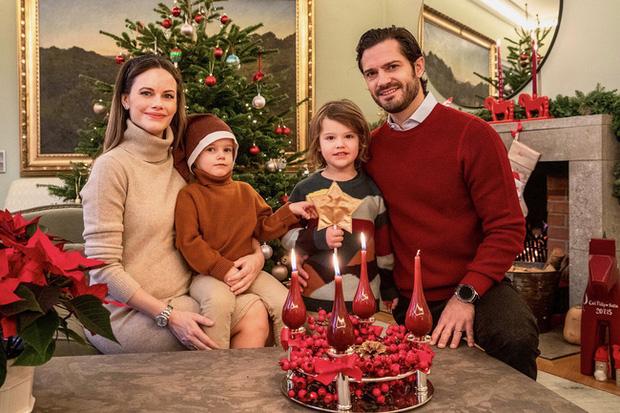 Gia đình Hoàng tử Thụy Điển Carl Philip.