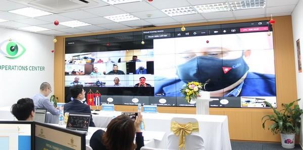 Việt Nam đào tạo an ninh mạng trực tuyến cho Cuba - Ảnh 1.