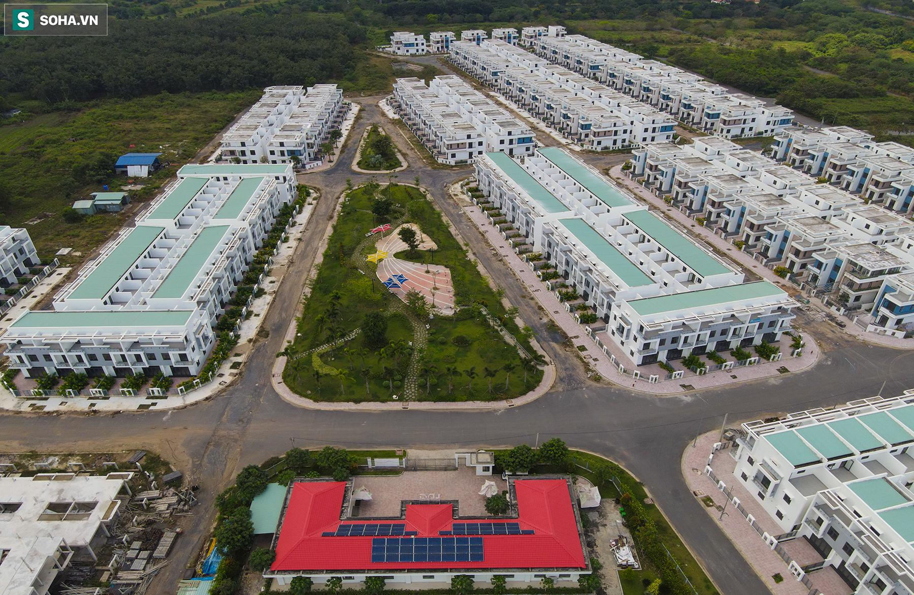[Ảnh] Cận cảnh dự án với gần 700 căn nhà trái phép, được quảng cáo là đô thị thông minh đầu tiên tại Việt Nam - Ảnh 5.