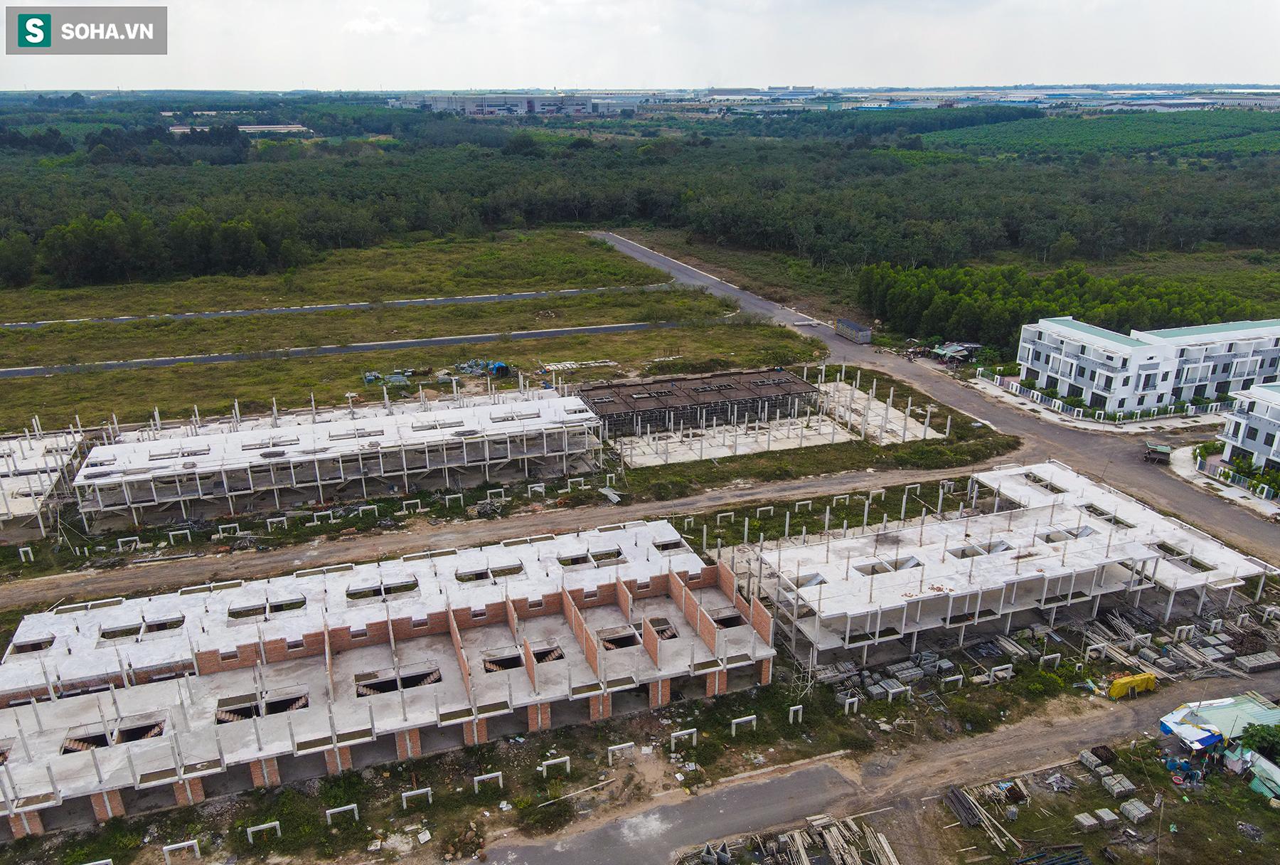 [Ảnh] Cận cảnh dự án với gần 700 căn nhà trái phép, được quảng cáo là đô thị thông minh đầu tiên tại Việt Nam - Ảnh 10.