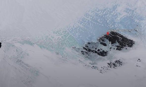 Băng tan tại Nam cực, phát hiện một vật thể lạ được cho là UFO - ảnh 3