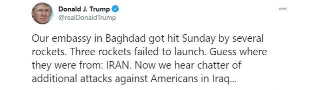 Sự thật sau bằng chứng về rocket Iran của TT Mỹ Trump: Cáo buộc vô giá trị và liều lĩnh? - Ảnh 1.