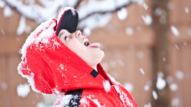 """Cô gái """"gây sốc"""" khi xúc tuyết ngoài đường vào nhà ngồi ăn ngon lành, dân mạng thắc mắc: Ăn vào rồi có bị gì không? - Ảnh 7."""