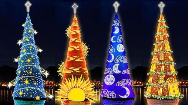Những cây thông Noel đặc biệt được ghi nhớ nhất trong lịch sử các mùa Giáng sinh khắp thế giới, kỳ công đến mức khiến ai cũng phải trầm trồ - Ảnh 8.