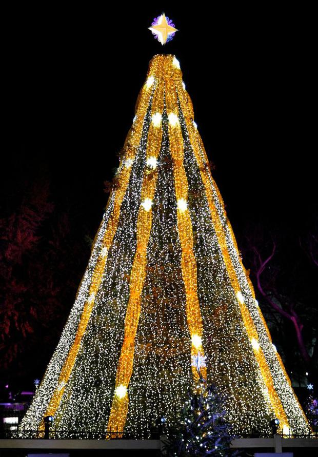Những cây thông Noel đặc biệt được ghi nhớ nhất trong lịch sử các mùa Giáng sinh khắp thế giới, kỳ công đến mức khiến ai cũng phải trầm trồ - Ảnh 9.