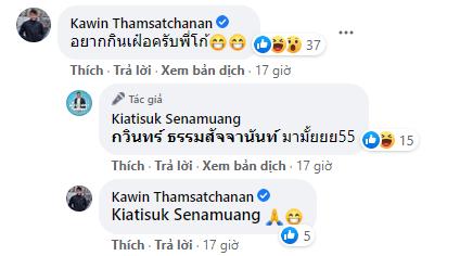 Thủ môn Kawin đòi... ăn phở, Kiatisuk lập tức rủ đến Việt Nam - Ảnh 1.