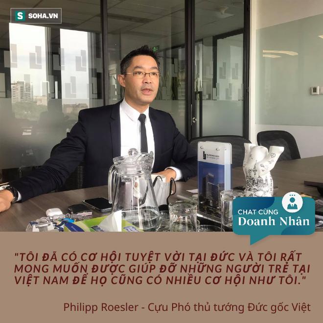 Cựu Phó thủ tướng Đức gốc Việt: Việt Nam là nơi tôi được sinh ra, là cội nguồn để tôi trở về - Ảnh 1.