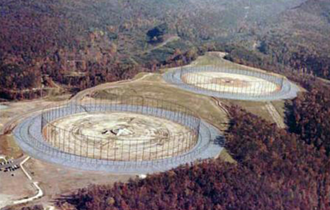 Trạm tín hiệu mật miền Đông nước Mỹ - Ảnh 1.