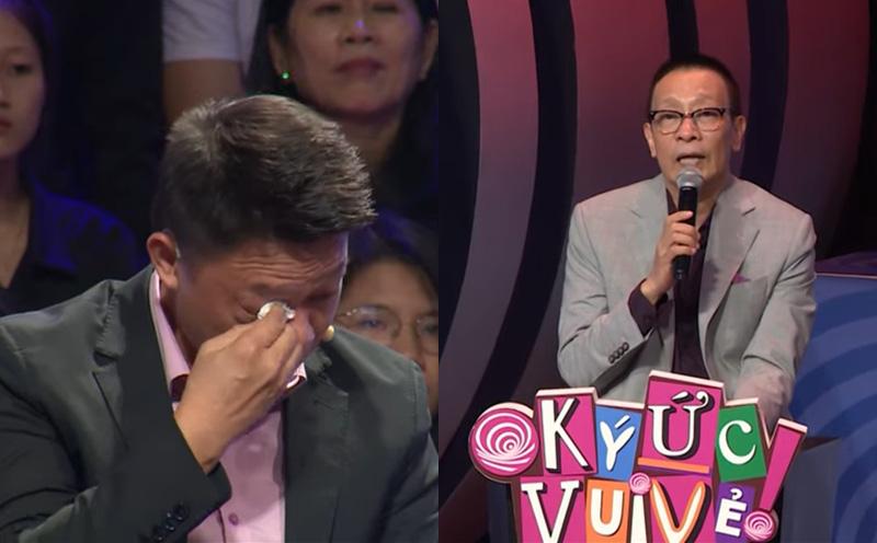 BTV Quang Minh nức nở khóc, MC Lại Văn Sâm phải an ủi