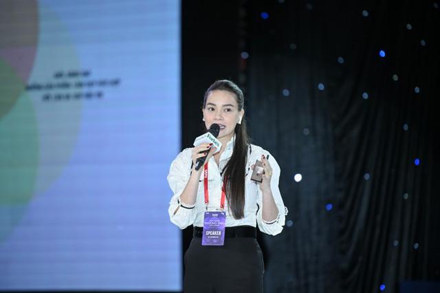 Hồ Ngọc Hà lần đầu làm diễn giả tại sự kiện kinh doanh: Tôi không hề muốn bất kỳ sản phẩm nào của mình dính đến những drama hay scandal - Ảnh 2.