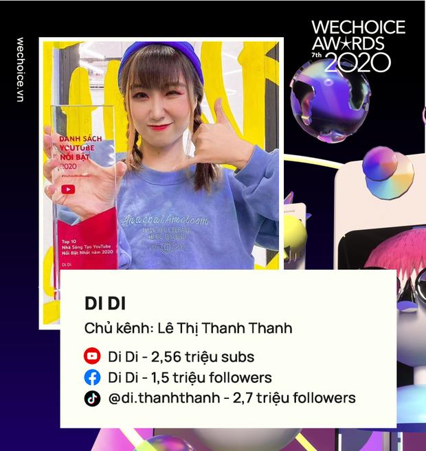 Loạt YouTuber hot hit năm 2020: Thiên An, Di Di dẫn đầu nhóm nhạc chế, Jenny Huỳnh quá đáng gờm! - Ảnh 2.