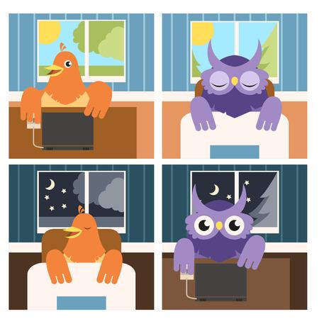 Không chỉ có chim sớm hay cú đêm, con người còn tới 4 kiểu đồng hồ sinh học kỳ lạ khác - Ảnh 1.