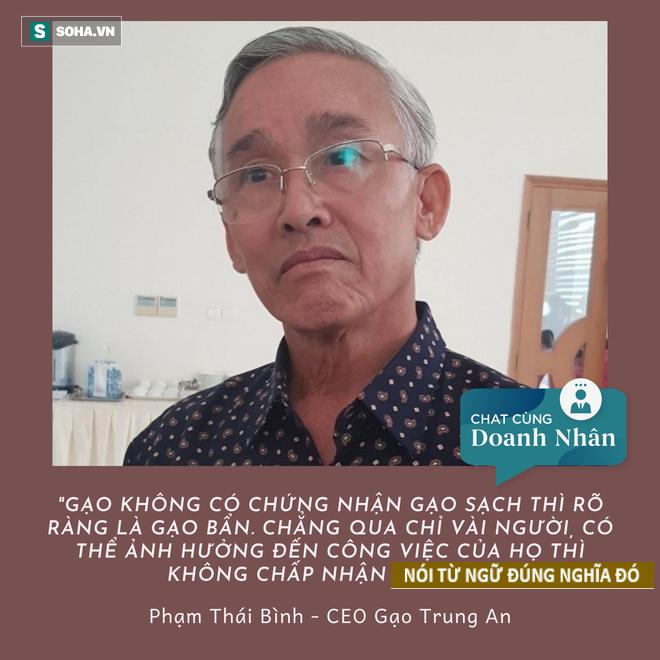Doanh nhân bị ném đá vì nói 90% người Việt ăn gạo bẩn: Như tôi là thẳng thắn, dám nhìn vào sự thật để thay đổi! - Ảnh 1.