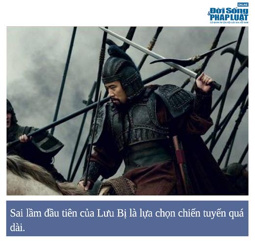 Tam Quốc Diễn Nghĩa: Trận chiến lộ rõ khả năng cầm quân non nớt của Lưu Bị - Ảnh 1.