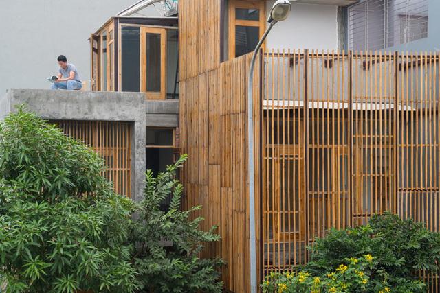 Ngôi nhà có cấu trúc mở ngập tràn ánh sáng tự nhiên - Ảnh 2.