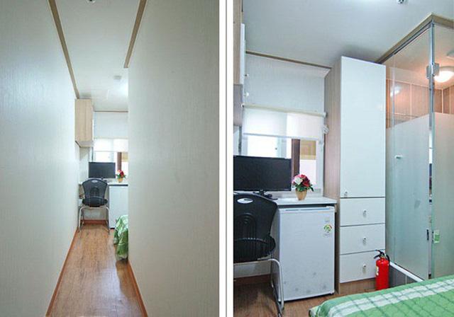 Những căn phòng tí hon chỉ 3 - 6m² nhưng chẳng thiếu thứ gì ở Hàn Quốc và Nhật Bản: Xu hướng thiết thực và được ưa chuộng của giới trẻ - Ảnh 4.