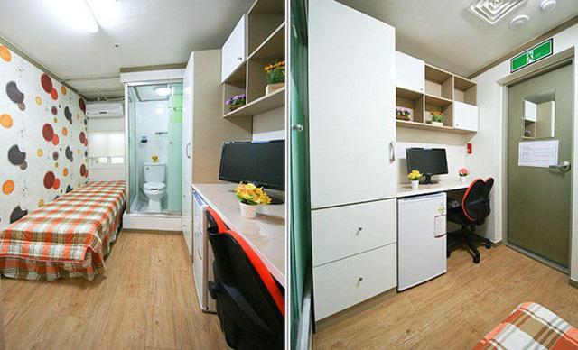 Những căn phòng tí hon chỉ 3 - 6m² nhưng chẳng thiếu thứ gì ở Hàn Quốc và Nhật Bản: Xu hướng thiết thực và được ưa chuộng của giới trẻ - Ảnh 8.