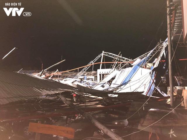 Hiện trường tan hoang vụ sập nhà xưởng ở Vĩnh Phúc làm 3 người chết, 18 người bị thương - Ảnh 3.