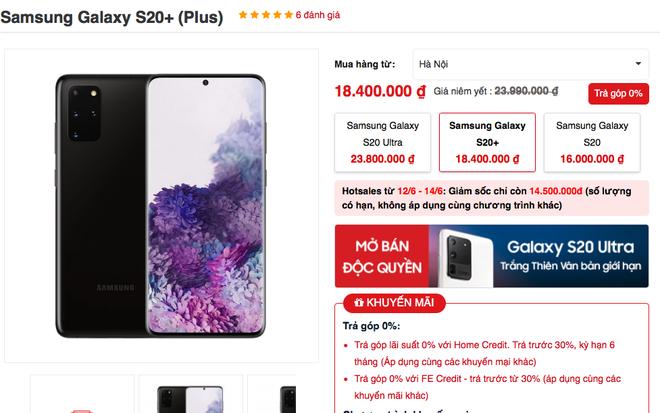 Galaxy S20 giảm giá tới 10 triệu chỉ sau hơn 3 tháng lên kệ tại VN  - Ảnh 3.