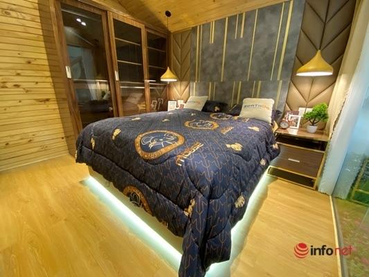 Giật mình biệt thự mini di động giá nửa tỷ xịn sò, sang chảnh như khách sạn 5 sao - Ảnh 4.