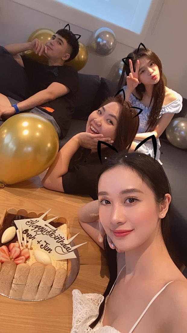 Will và Linh Ka công khai sánh đôi trong tiệc sinh nhật của Jun Vũ: Thân mật thế này bao giờ mới công khai? - Ảnh 1.