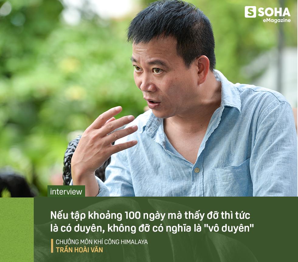 Chưởng môn Khí công Himalaya VN: Một phần không nhỏ đàn ông Việt hùng hục kiếm tiền, nhậu nhẹt vô độ để mua chỗ trên… giường bệnh - Ảnh 6.