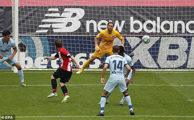 Athletic Bilbao 1-1 Atletico Madrid: Chia điểm tiếc nuối - Ảnh 1.