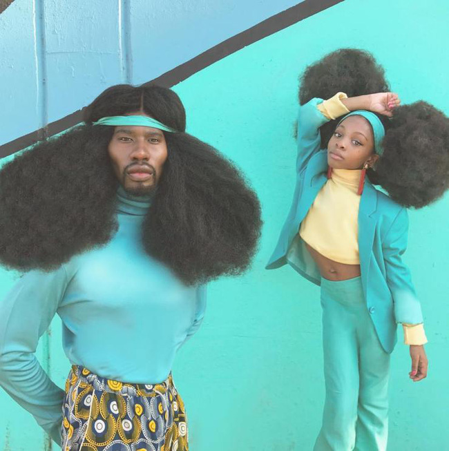 2 bố con sở hữu kiểu tóc xù bông bá đạo nhất thế giới khiến ai nhìn cũng trầm trồ và còn ghi tên vào kỉ lục Guinness - Ảnh 6.