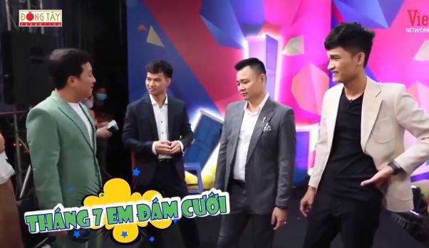 Trường Giang lỡ miệng tiết lộ chuyện Trương Thế Vinh hủy hôn trước đám cưới 2 tháng - Ảnh 1.