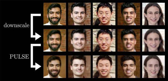 AI hô biến ảnh chân dung mờ đến mức không thể thấy rõ được mặt thành ảnh sắc nét gấp 64 lần - Ảnh 2.