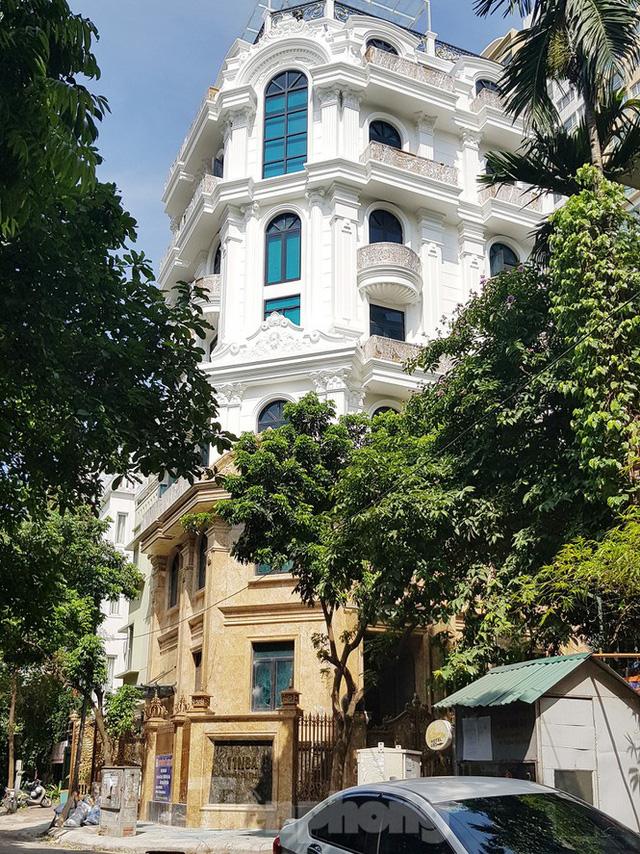 Nở rộ công trình cung điện, lâu đài tự hợp thửa đất liền kề ở Hà Nội - Ảnh 3.