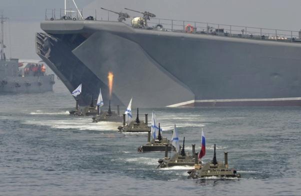 Tàu đổ bộ cỡ lớn của Hải quân Nga còn tệ hơn cả phà vận chuyển xe hơi: Hé lộ sự thật sốc! - Ảnh 3.